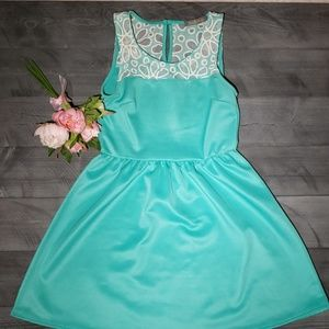 Finn & Clover mint green Medium dress
